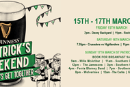 Image for event: The Bog St Patrick's Day