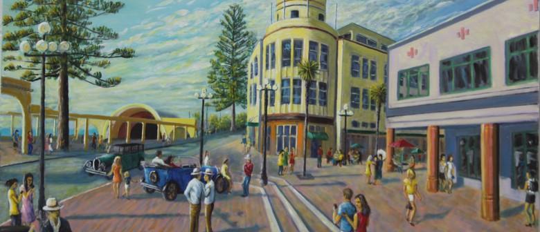 Ross Pfeffer; Paintings in Oil