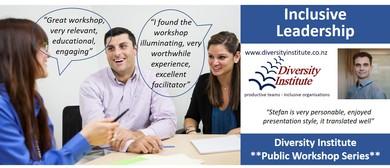 Inclusive Leadership - Workshop Auckland