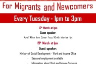 Image for event: Job Club - Guest Speaker from Ministry of Social Development