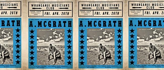 Adam McGrath - Ragged Ramble Tour