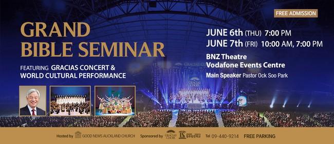 Grand Bible Seminar Feat. Gracias Music Concert