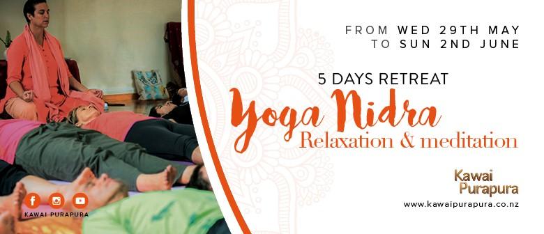 5 Days Yoga Nidra Retreat: CANCELLED