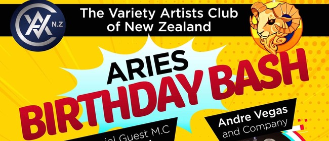 Aries Bash Variety Artists Club Entertainers Night