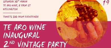 Te Aro Wine 2019 Harvest Party