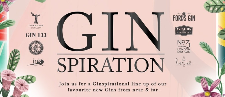 Gin Tasting Event Ginspiration