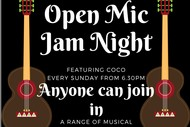 Image for event: Open Mic - Jam Night