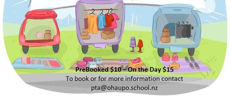 Ohaupo School PTA Car Boot Sale