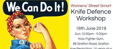 Women's Street Smart Knife Defence Workshop