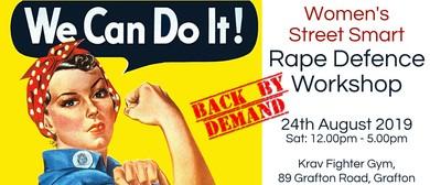 Women's Street Smart Rape Defence Workshop