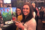 Image for event: Mixing It Up - Wine and Paint