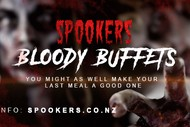 Image for event: Spookers Bloody Buffet & R16 Attraction Packages