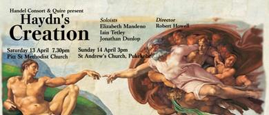 Haydn's Creation - Handel Consort & Quire