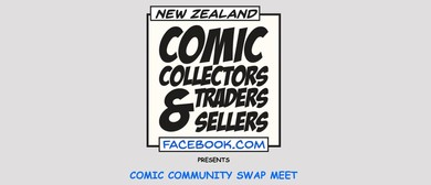 New Zealand Comics and Collectibles Swap Meet by CACL