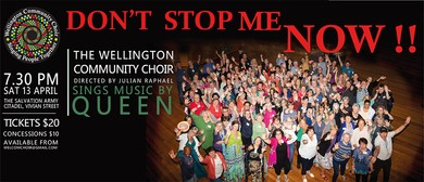 Don't Stop Me Now! Community Choir Sings Queen