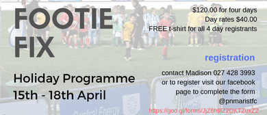 Footie Fix Holiday Programme