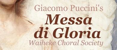 Puccini's Messa di Gloria/Brahms' Alto Rhapsody