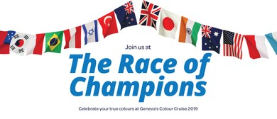 Geneva Healthcare's Colour Cruise: The Race of Champions