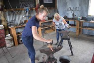 Image for event: Blacksmithing Course