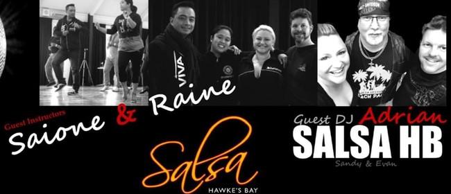 Latin Dance Workshops & Party - with Saione & Raine