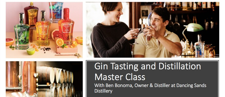 Gin Tasting and Distillation Master Class