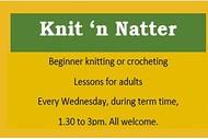 Image for event: Knit 'n Natter
