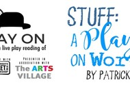 Image for event: Play On: Stuff: A Play On Words by Patrick Evans