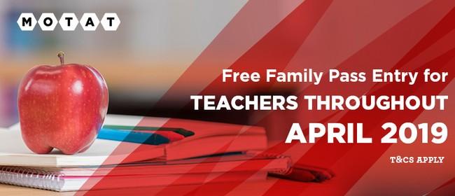 Special Offer for Registered Teachers In April