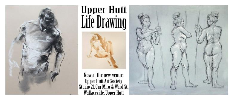 Life Drawing Class - Upper Hutt - Eventfinda