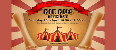 Circus Open Day