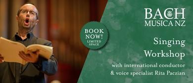 BMNZ Workshop Series 2019: Singing Workshop