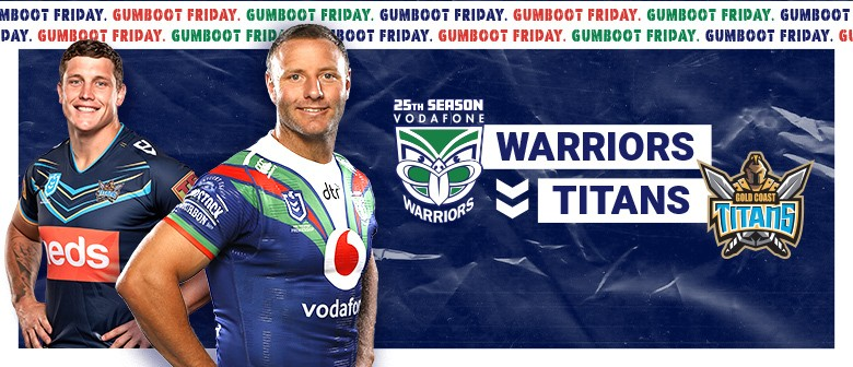 c8da44c7 Vodafone Warriors v Gold Coast Titans - Auckland - Eventfinda. '