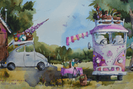 Image for event: Watercolour Painting Classes With Amanda Brett