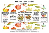 Image for event: April Art Club Holiday Sessions