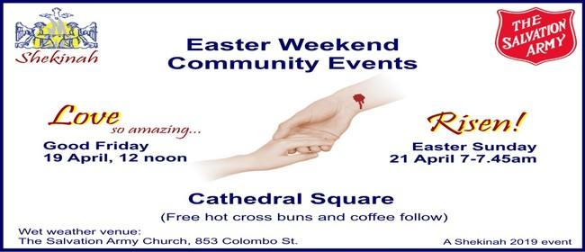 Easter Weekend Community Events