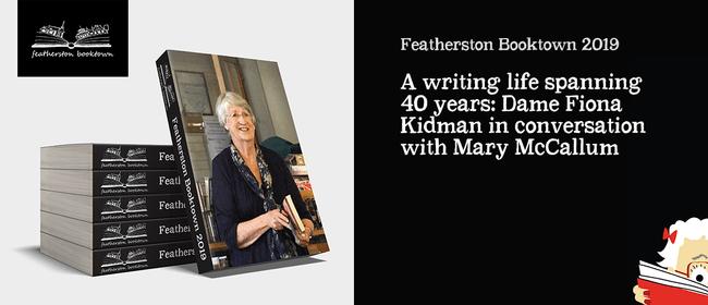 A writing life spanning 40 years: Dame Fiona Kidman