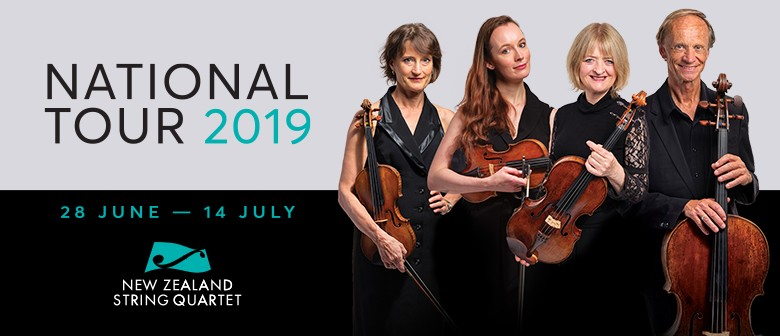 NZ String Quartet: National Tour 2019 - Christchurch