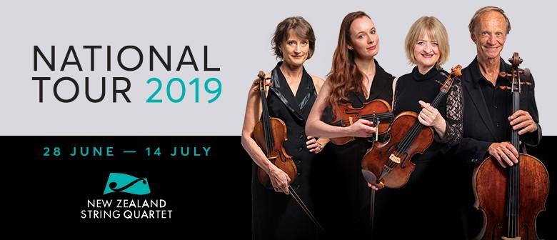 NZ String Quartet: National Tour 2019