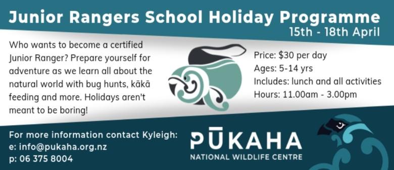 Pūkaha Junior Rangers School Holiday Programme