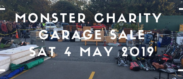 Monster Charity Garage & Car Boot Sale