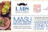 Image for event: Lads Who Lunch