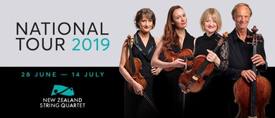 NZ String Quartet: National Tour 2019