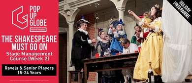 The Shakespeare Must Go On: Holiday Programme