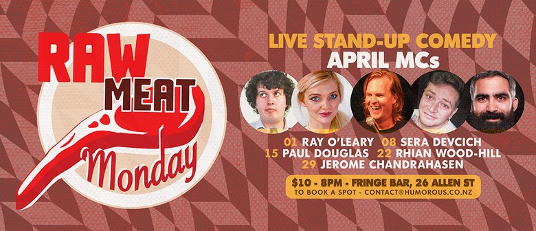 Raw Meat Monday - Live Comedy