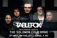 Image for event: Tablefox with special guests The Solomon Cole Band