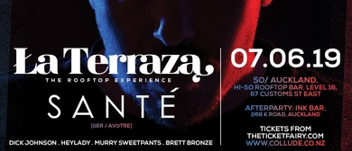 La Terraza the Rooftop Experience ft Sante