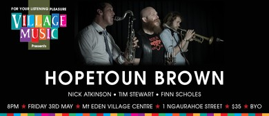 Hopetoun Brown in Concert