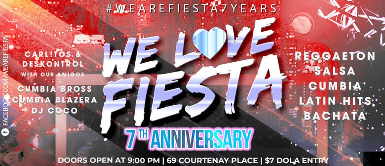 Latin Party Fiesta 7th Anniversary