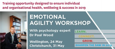 Emotional Agility Workshop - Dr Paul Wood