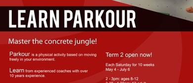 Parkour Block Course - Term 2
